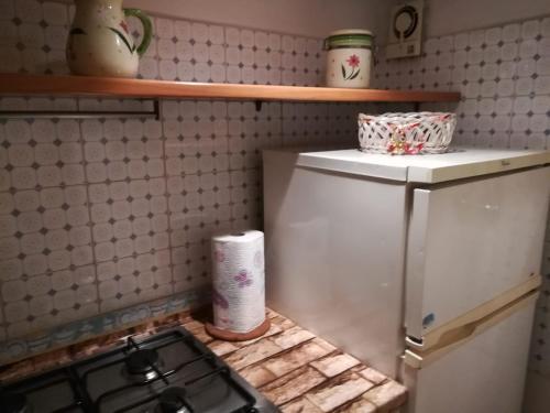 A bathroom at Sabelli House