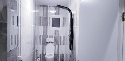 A bathroom at Ferienwohnungen