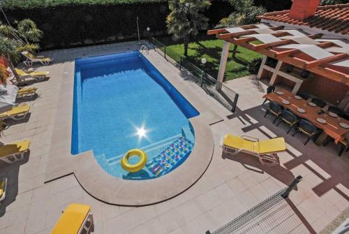 A view of the pool at Fonte Coberta Villa Sleeps 10 Air Con WiFi or nearby