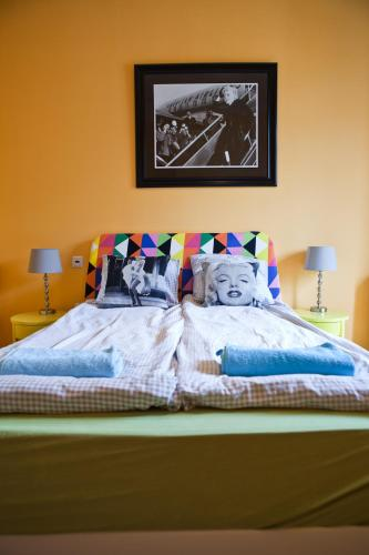 A bed or beds in a room at Pepe Hostel