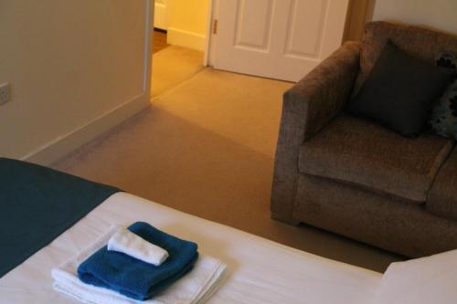 A bed or beds in a room at Vervain Court