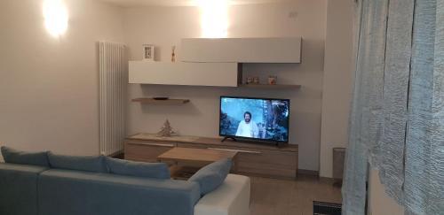 TV o dispositivi per l'intrattenimento presso Appartamento Chiara