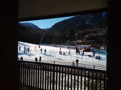 Bardonecchia Campo Smith durante l'inverno
