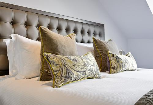 Krevet ili kreveti u jedinici u okviru objekta George St Apartments by BNBbuddy