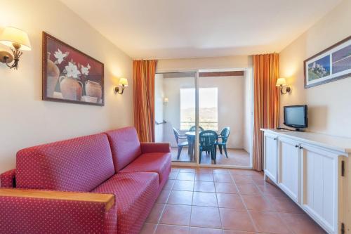 Гостиная зона в Village Pierre & Vacances - Pont Royal en Provence