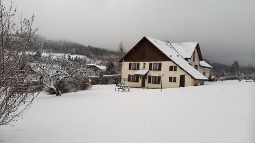 La Mauselaine during the winter