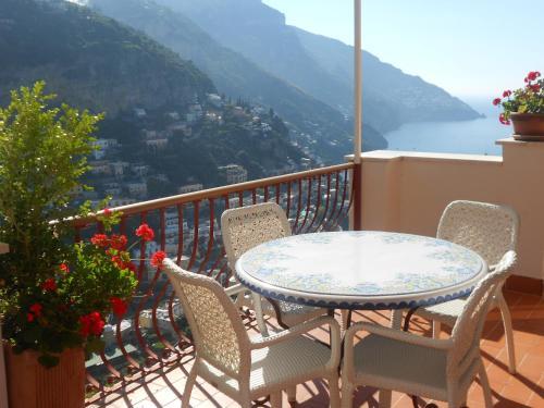 A balcony or terrace at Casa Le Terrazze