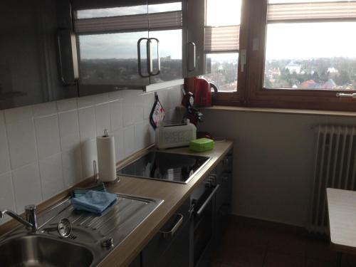 A kitchen or kitchenette at Bredo