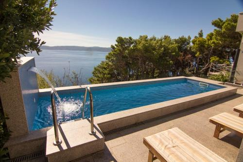 The swimming pool at or near Holiday House Botta