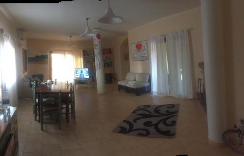 A seating area at Casa Alberto