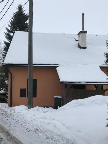Apartment Martinec during the winter