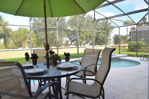 The swimming pool at or near Villa Davenport