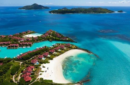 Vista aerea di Eden Island Luxury Accommodation