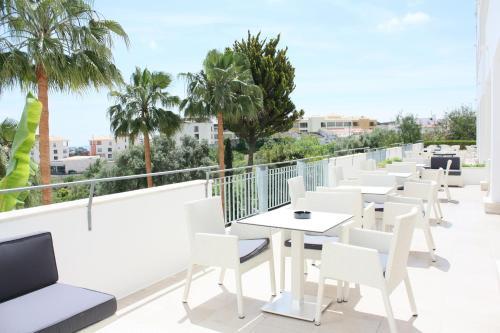 Een balkon of terras bij Vila Petra