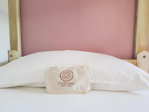 Un pat sau paturi într-o cameră la Edem