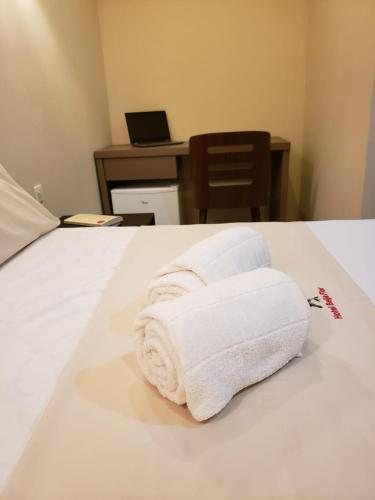 Beija Flor Living Hotel 객실 침대