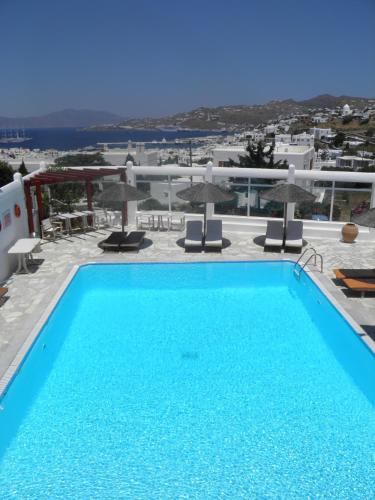 The swimming pool at or near Anastasios Sevasti