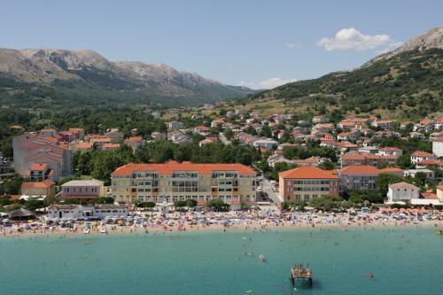 Άποψη από ψηλά του Valamar Villa Adria