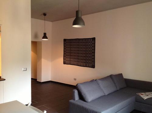 A seating area at Casa Vacanze Bosa