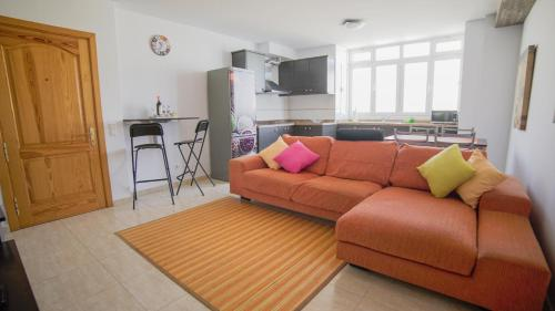 A seating area at AR Home - New Lovely 3 bedroom apartment in Telde