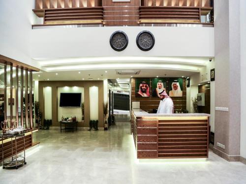 Lobby/Rezeption in der Unterkunft Capital O 145 Sendan Residence