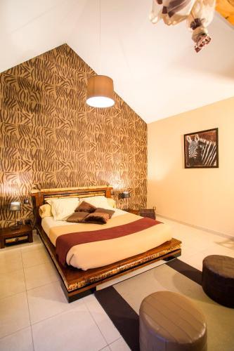 Un ou plusieurs lits dans un hébergement de l'établissement CHAMPAGNE ET CHAMBRES D'HOTES PIERRE TRICHET
