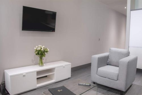 A television and/or entertainment center at Dream Apartments Water Street