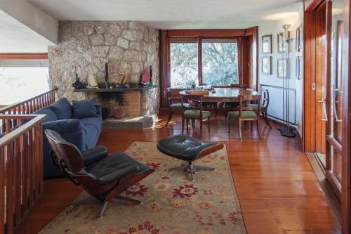 A seating area at villa punta rossa