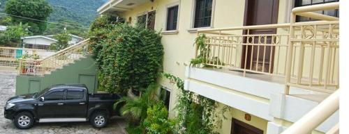 A balcony or terrace at Apartamento Corporativo