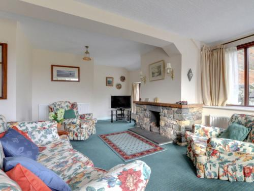 A seating area at Holiday Home Chapel Beck