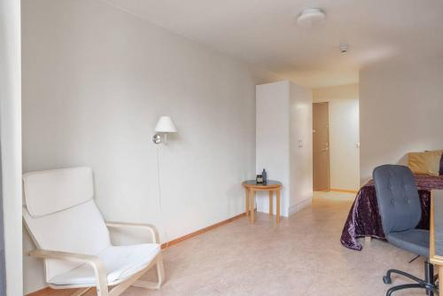 A seating area at Exclusive Space for Two Near the City Centre!