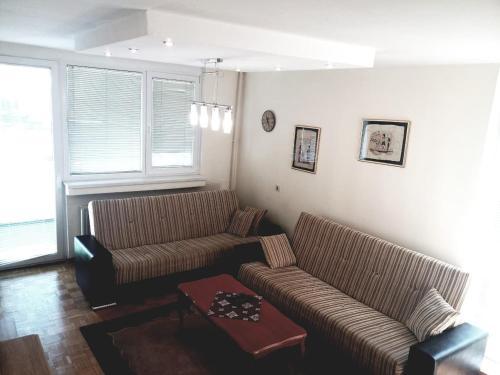 A seating area at Apartment Ambrela