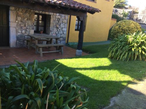 Jardín al aire libre en Casa Lula 2