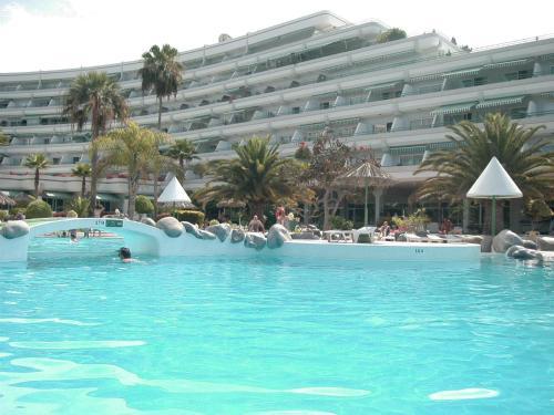 The swimming pool at or near El Beril and Altamira apartments