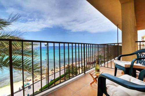 A balcony or terrace at Dunas 4