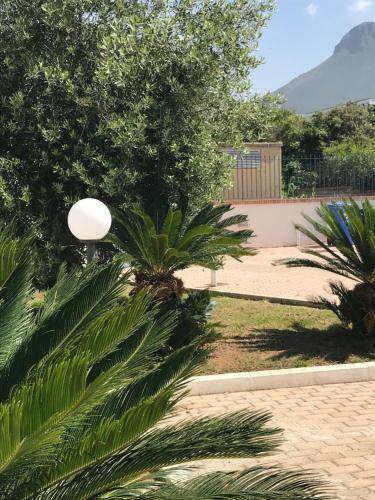 A garden outside Hotel Residence Le Spiagge