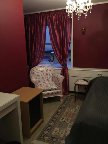 Cama o camas de una habitación en Hotell Gyllene Geten