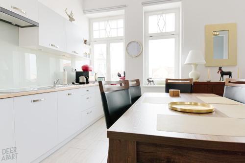 A kitchen or kitchenette at Deer Apart