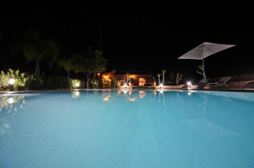 The swimming pool at or near Quinta da Zara
