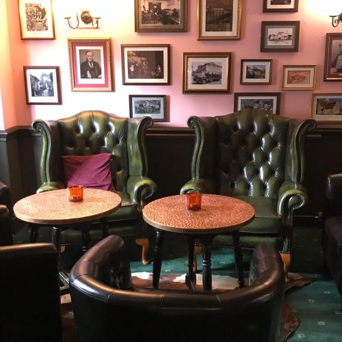 A seating area at The Swan Inn