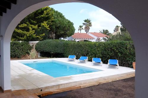 The swimming pool at or near Casa Miret