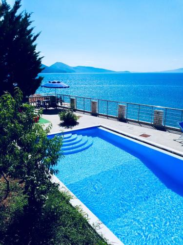 The swimming pool at or near Ionian Bay