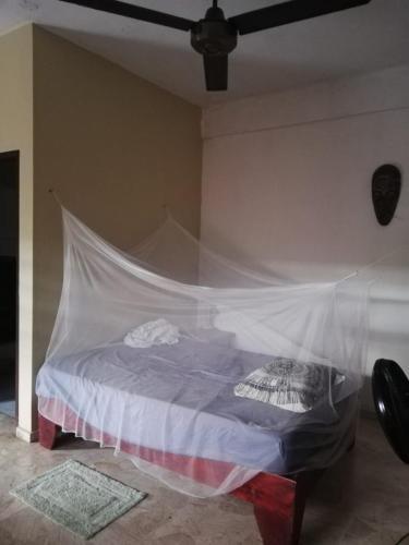 Ліжко або ліжка в номері 10 dolares la habitación