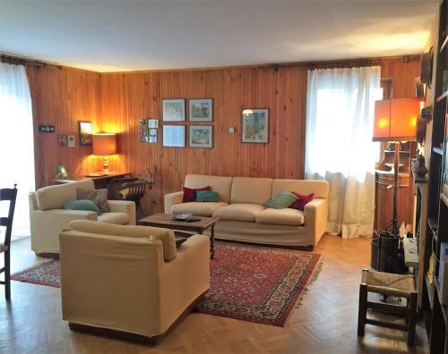 Istumisnurk majutusasutuses Casa Malerba
