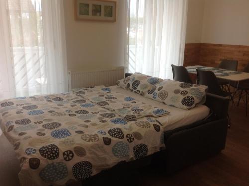 Postelja oz. postelje v sobi nastanitve Apartment Aleso