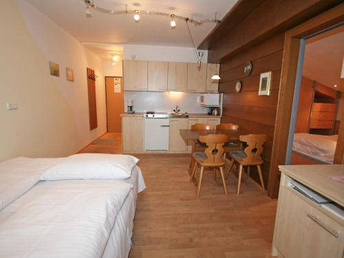Küche/Küchenzeile in der Unterkunft Apartment Haus Koch.2