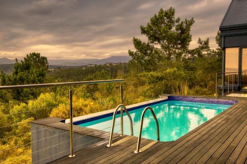 The swimming pool at or near Ali's Villa
