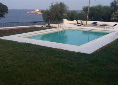 The swimming pool at or near Di belmonte sea front villa