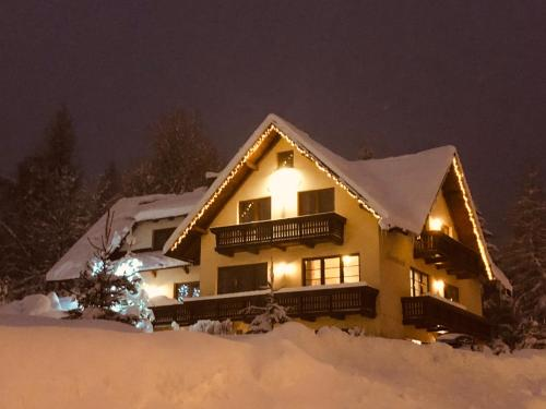 Apartmany Aneta during the winter