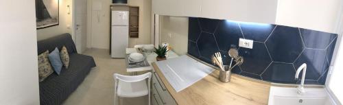 TV o dispositivi per l'intrattenimento presso Victoria Apartments
